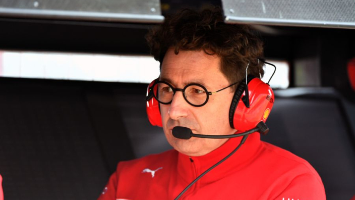Binotto regrets 'missed opportunities' for Ferrari in 2019