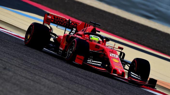 Schumacher reveals true power of Ferrari engine?