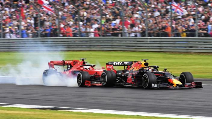 """Vettel: """"Mijn excuus aan Max telt meer dan de straf van stewards"""""""