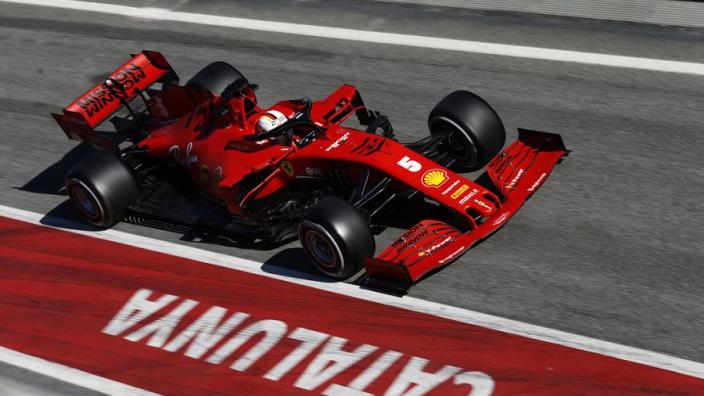 """Sebastian Vettel over nieuwe auto: """"Het gaat de goede kant op"""""""