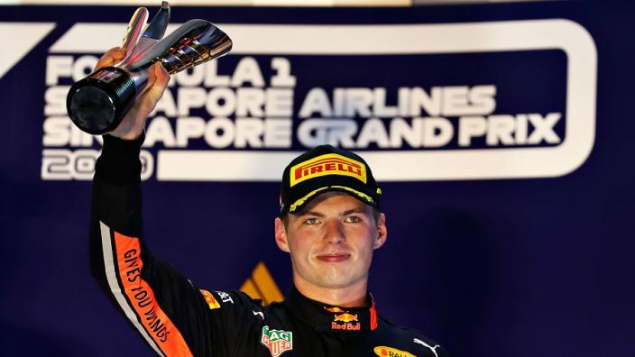 Verstappen: Singapore was Red Bull's worst performance