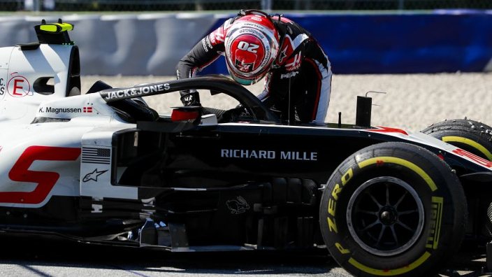 Haas confirm overheating brakes caused double DNF in Austria