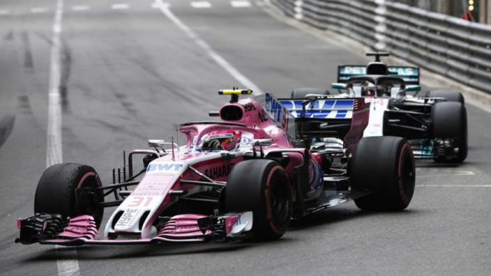 Mercedes gave Ocon team orders in Monaco