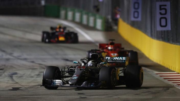 Hamilton proves his superiority but Ferrari are sabotaging Vettel's challenge