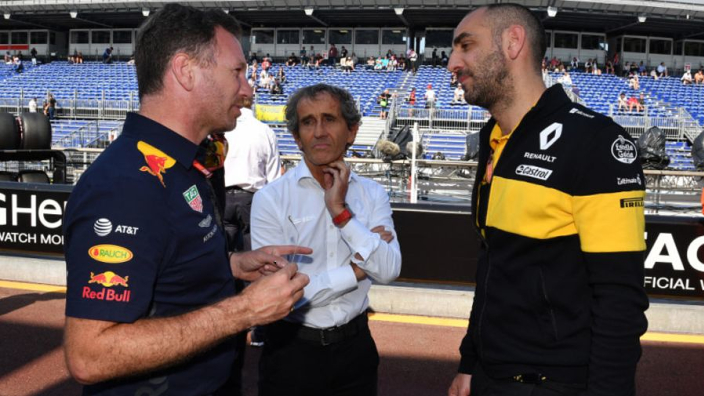 Abiteboul: 'Het zegt wel wat dat Ricciardo niet voor ons mocht testen van Red Bull'