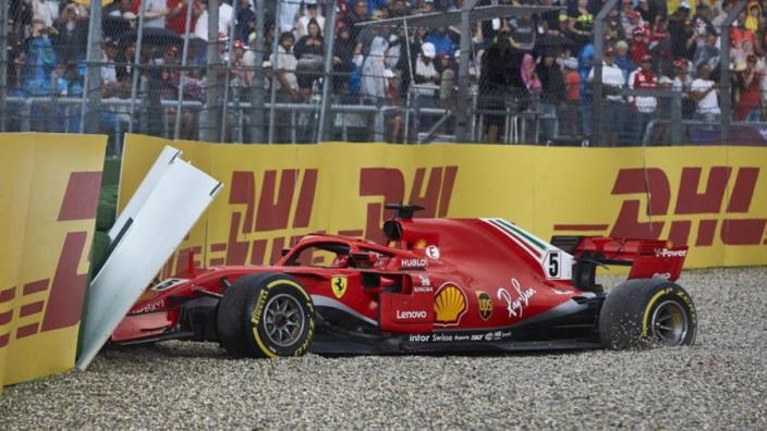 One of Vettel's 'darkest days'