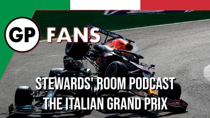 Was Verstappen really to blame for Hamilton Monza clash? - GPFans Stewards' Room Podcast