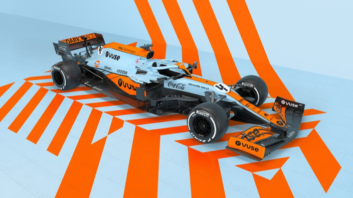 McLaren reveals stunning Gulf livery for Monaco Grand Prix