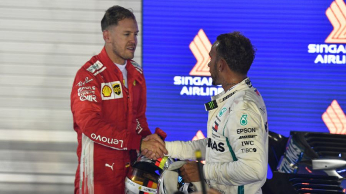 Vettel looking forward to 'great challenge' of toppling Mercedes
