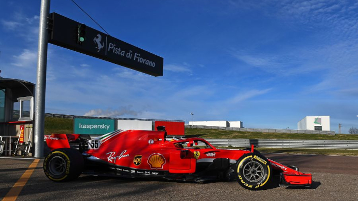 "Ferrari debut ""a day I will never forget"" - Sainz"