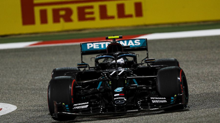 Russell beaten by Bottas to pole by just 0.026s as Mercedes lock out Sakhir front row