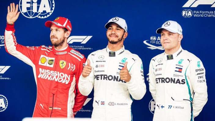 Brazilian Grand Prix starting grid with penalties applied