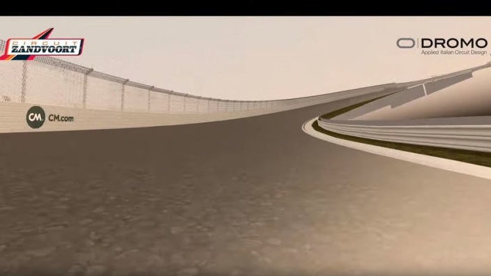 VIDEO: Take a virtual lap of the remodelled Zandvoort circuit