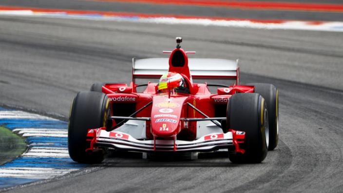 GALLERY: Mick Schumacher driving father's Ferrari F2004 at Hockenheim