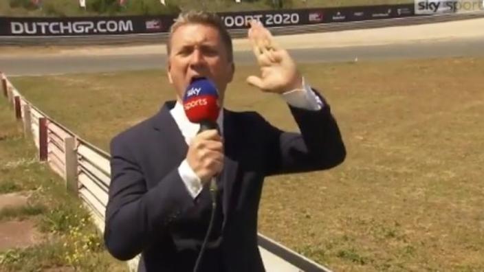 VIDEO: Hilarische inspectie van Circuit Zandvoort door Sky Sports