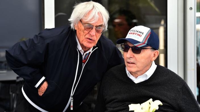 Bernie Ecclestone not behind buyout - Williams