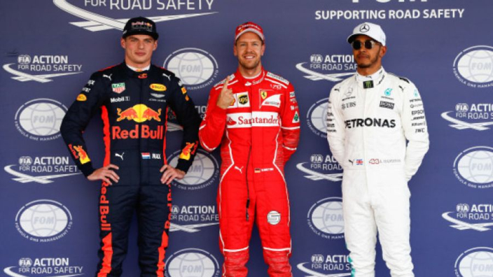 Verstappen sets sights on Hamilton, Vettel battle