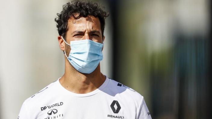 """Ricciardo over Ferrari: """"Niet over nagedacht als ik daar naartoe zou gaan"""""""