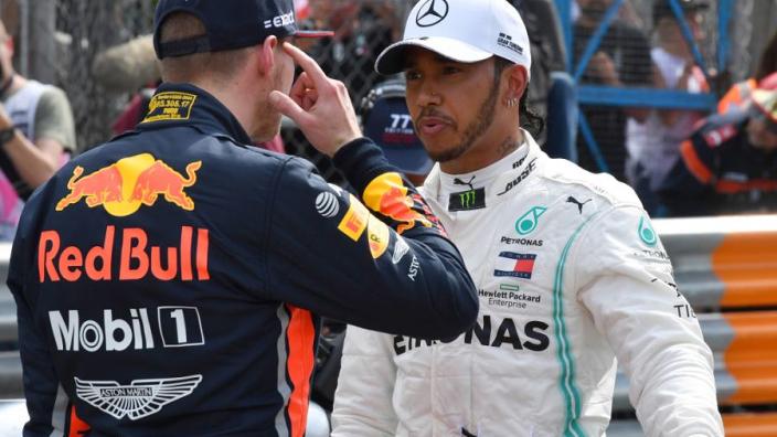 Verstappen says Hamilton hasn't had good team-mates