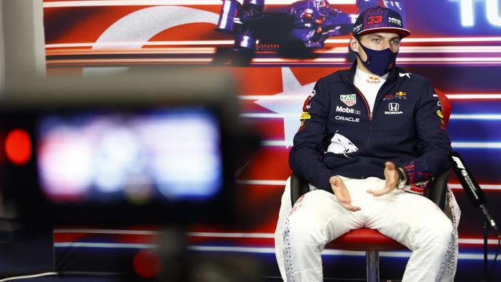 Verstappen reveals Red Bull steering wheel issue lasted entire race