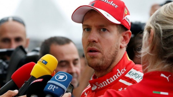 Vettel admits he 'chickened out' in final lap