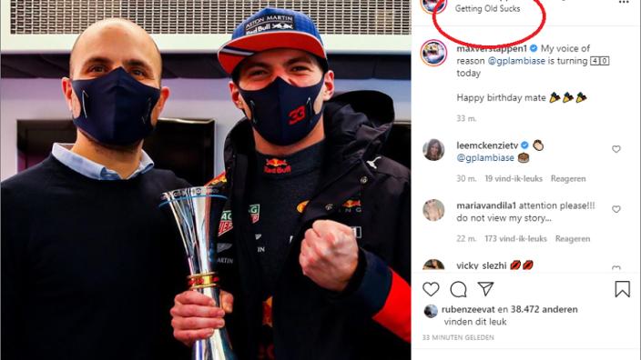 """Max Verstappen feliciteert z'n race-engineer: """"My voice of reason"""""""