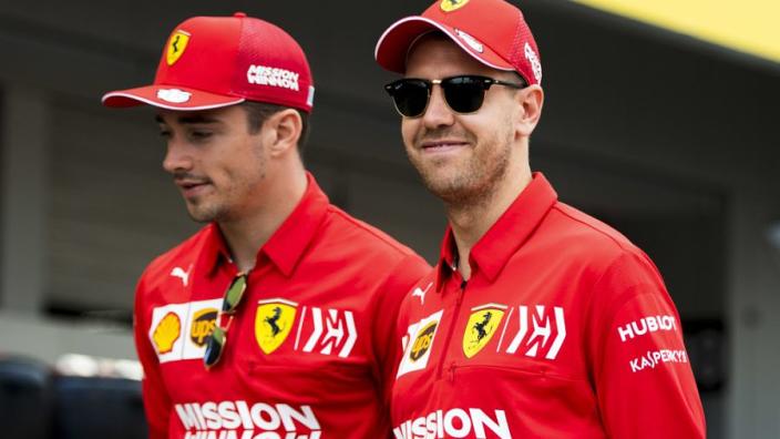 Vettel: Leclerc won't be team leader in 2020