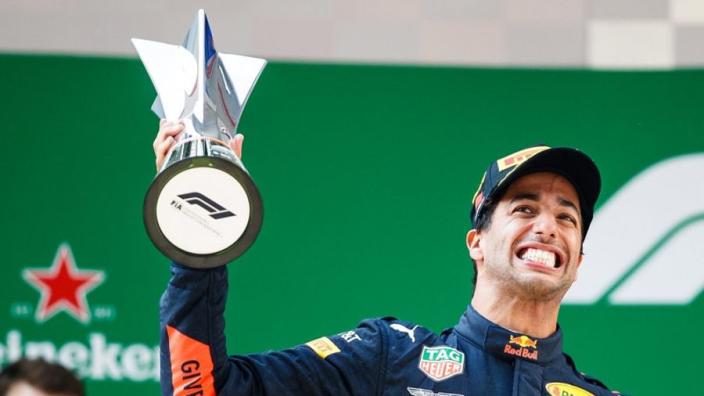 Ricciardo revels in Bottas overtake