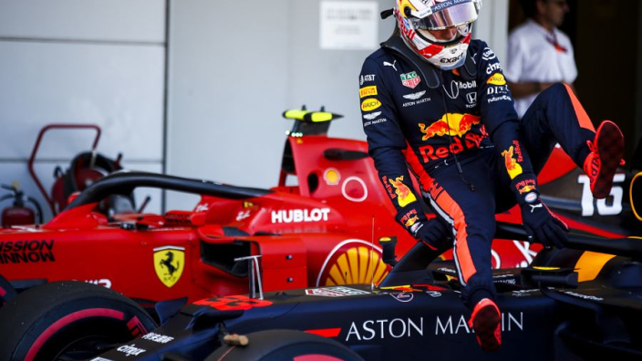 Verstappen: Red Bull out-developed by Ferrari