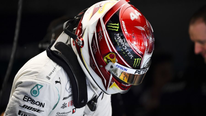 Hamilton: I've been fighting the car all weekend
