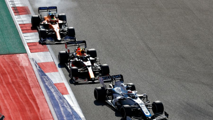 """Norris: """"Ik kon racen tegen een Red Bull, terwijl Verstappen tweede werd"""""""