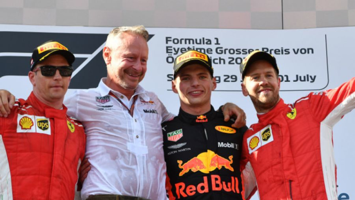 Vettel: Max deserved to win