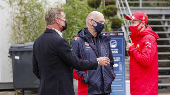 Coulthard haalde Newey naar Red Bull: ''Klein geheim etentje met hem gehad''