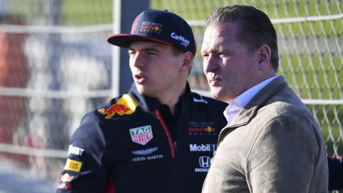 "Jos Verstappen on Max fear factor: ""Nice isn't it?"""