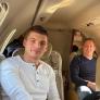 Max Verstappen en vader Jos klaar voor testweken in Barcelona