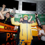 Sainz's Brazilian GP podium confirmed