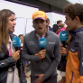 VIDEO: Ricciardo punches Sainz in the balls during interview!