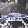 VIDÉO : Pérez manque de renverser deux commissaires à Monaco !