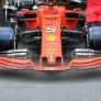 Ferrari niet bezorgd over afwijkende voorvleugel: 'Gaan er voorlopig mee door'