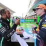 """Hamilton: """"Vandaag meer geleerd van Verstappen dan alle jaren hiervoor"""""""