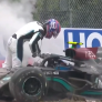 Have Russell's Mercedes hopes faded after Wolff's angry crash response