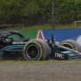 Palmer ziet druk Verstappen op Hamilton: 'Hij nam risico's die hij jaren niet hoefde te nemen'