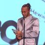 Hamilton wint belangrijke sportprijs: 'F1 heeft mijn leven betekenis gegeven'
