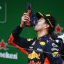 Ricciardo misses 'shoey' celebration