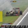 VIDEO: De vlammende auto van Heidfeld in de Hongaarse Grand Prix van 2011