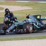Rossi's review of Hamilton's Mercedes