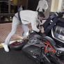VIDEO: Rosberg stapvoets met nieuwe motor 'gecrasht' in Monaco