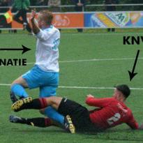 KNVB is er klaar mee: hardere aanpak discriminatie amateurvoetbal