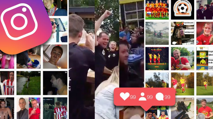 Ondertussen in de Kelderklasse 2: @fans_van_dvs12 trekt mega-adtje voor de club