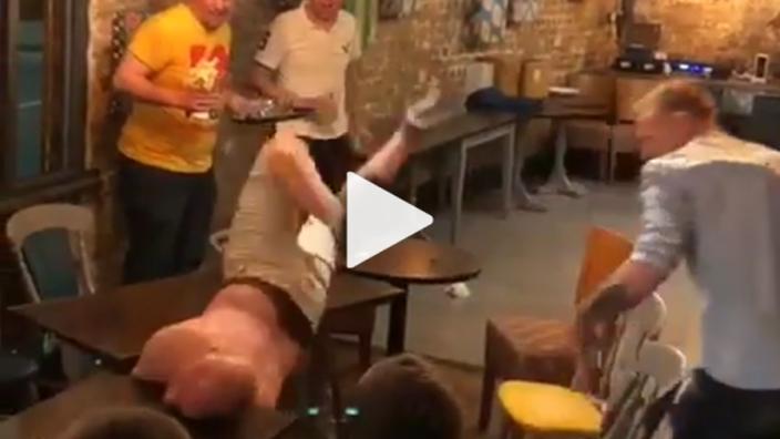 VIDEO: Nek van derdehelft-veteraan zegt knak